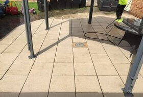 Patio Cleaning in Aylesbury, Buckinghamshire